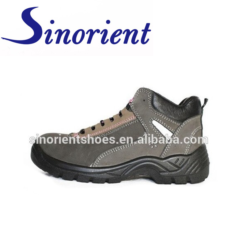 S3 CE certificate Anti slip safety boots ,pu injection safety boots steel toe RS211