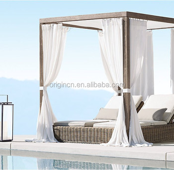 Crafted Double Indian Bed Designs Of Rattan Furniture Sun Lounger