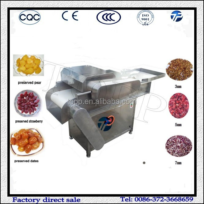 Preserved Fruit Cutting Machine/Candied Fruit Cutting Machine