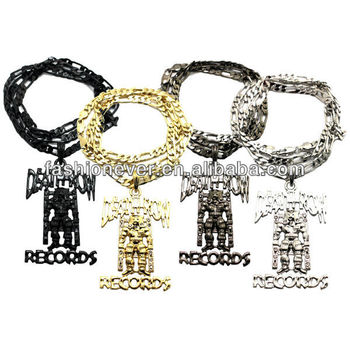 Death row records inspired iced out hip hop pendant necklace 24 death row records inspired iced out hip hop pendant necklace 24quot figaro chain aloadofball Choice Image