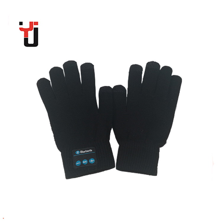 Stylish Smartphone Touch Screen Winter Knitted Acrylic Bluetooth Gloves