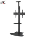 Support Single Screen Classic LCD TV Floor Outdoor TV Stand With Tilt Bracket Arm