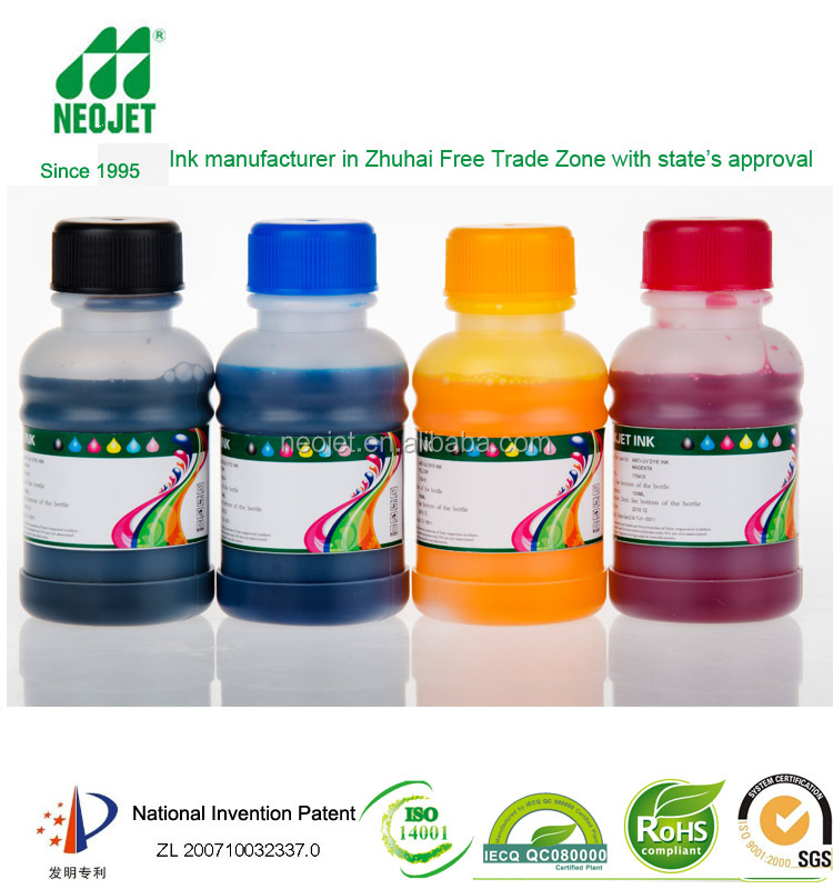 bulk ink factory zhuhai ink compatible ink for hp desingjet 1000 1050c 1055cm for digital printing continuous ink system