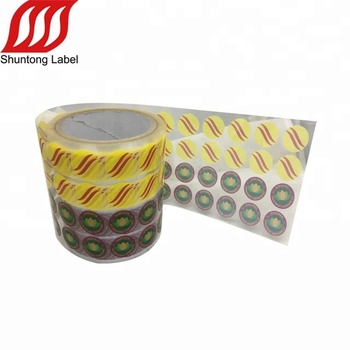 New Design Custom Clear Circle Round Small Labels,Clear Transparent Pvc Pet  Pe Labels Roll Stickers - Buy Clear Label,Pet Label,Clear Sticker Product