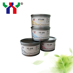 Ceres YT-06 Offset Melamine Soy Ink For MELAMINE Foil Paper Cyan