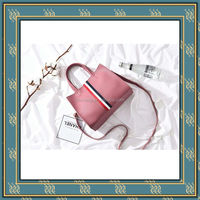Chinese supplier pu designer wholesale leather handbags, fashion woman leather handbag
