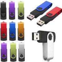 Swivel USB 2.0 Flash Drive Memory Stick Pen Storage Thumb U Disk
