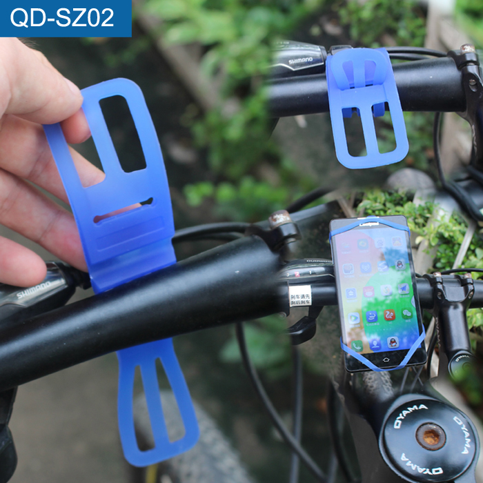 Mobile Accessories Elastic Cell Phone Holder Silicone Phone Holder Bike For iPhone 6s plus фото
