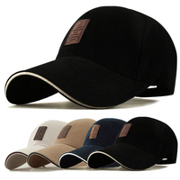 Brushed 100% cotton custom plain blank led cap light/baseball cap