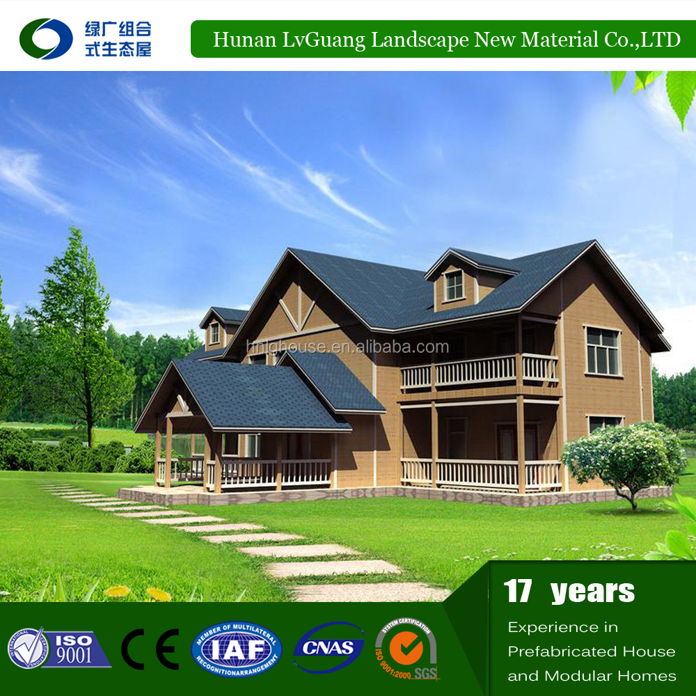 2016 russian prefabricated wooden houses with best price