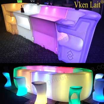 Verlichte Plastic Afstandsbediening Led Drankjes Bar Met Verlichting ...