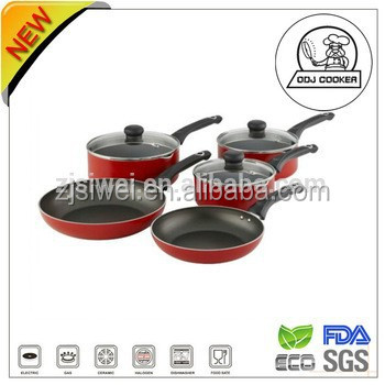 Newest Aluminium Non Stick Amc Cookware Sets With Very Competitive Price -  Buy Amc Cookware Set,Milano Cookware Set,Olive Cookware Set Product on