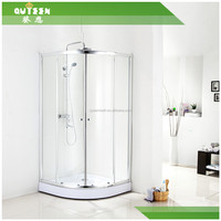 Free standing shower screen,complete shower room, cheap corner shower