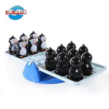 plastic brain games toy balance penguin board game maker for family play