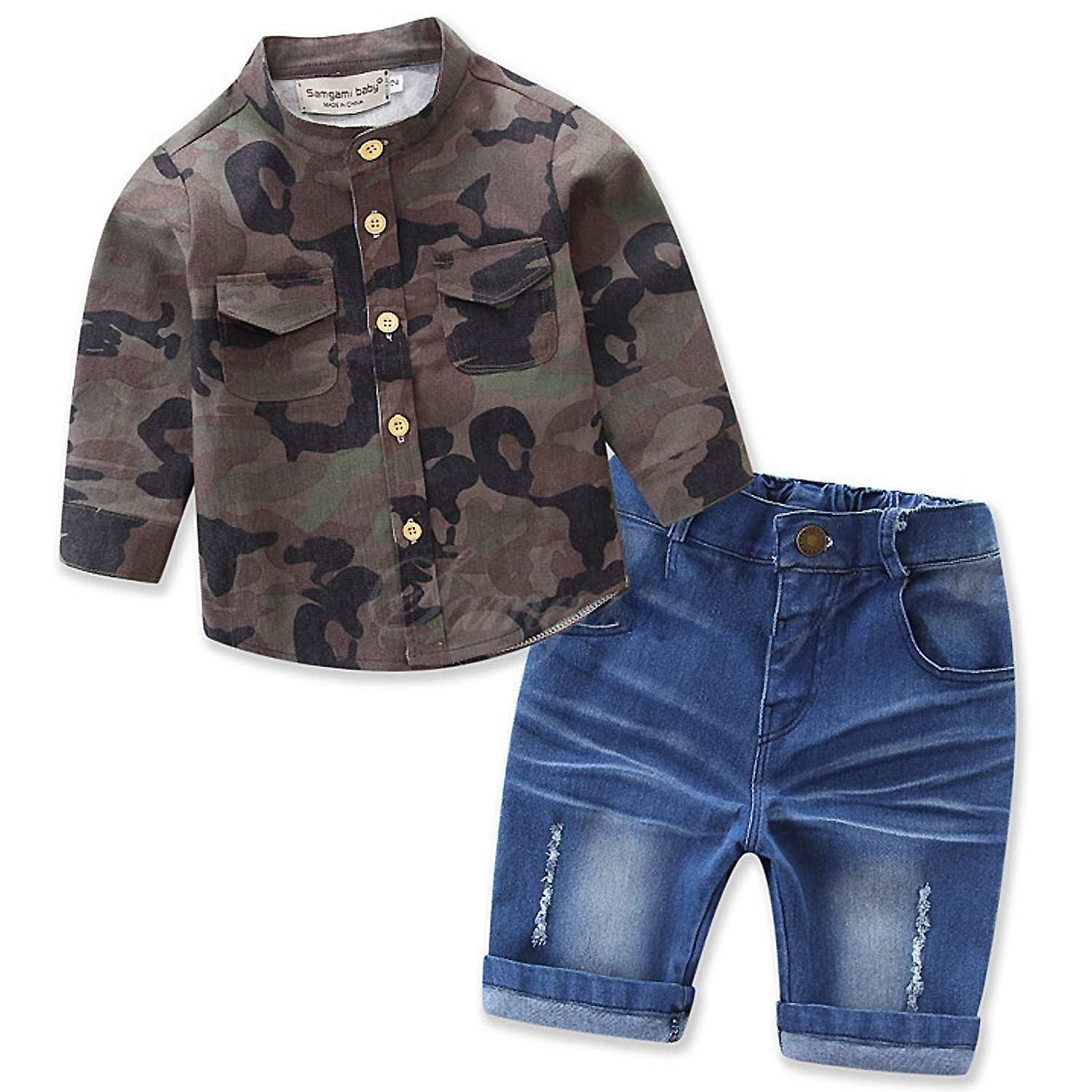 Milkiwai Long Sleeve Romper Gentleman Outfits with Bow Formal Jumpsuit for Baby Kid Boys