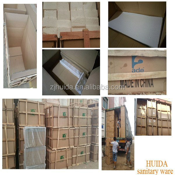 dubai market floor mounted pvc bathroom accessories basin cabinet made in china