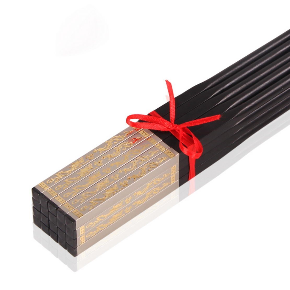 Black Ebony wood chopsticks, Chinese chopsticks home solid wood chopsticks Family Pack retro double mounted ebony chopsticks, wood chopsticks chopsticks, chopsticks Chinese chopsticks,