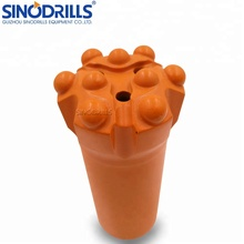 R38 T38 64mm rock drill button bits for mining