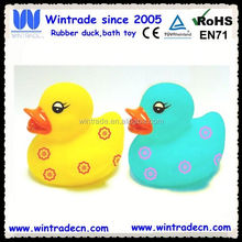 Quacking duck dog toy rubber duck