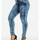 Royal wolf embellished back pockets colombian jeans levanta cola colombian butt lift jeans