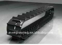 Rubber Track & Pad for Excavator, Grader and Combination Harvester