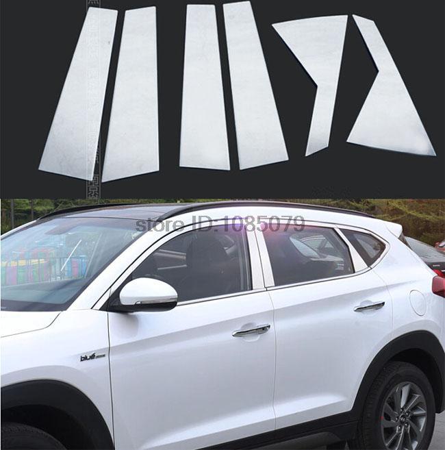Aliexpress Com Buy Lapetus Accessories Fit For Hyundai: ACCESSORIES-FIT-FOR-2016-HYUNDAI-TUCSON-WINDOW-CHROME
