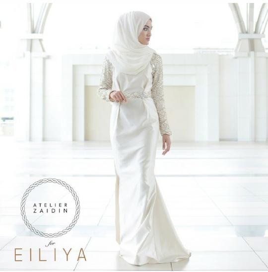 Baju nikah arabic style dresses