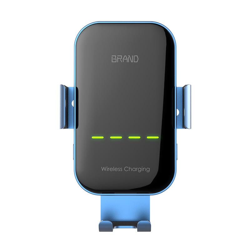 สมาร์ท 15 W เหนี่ยวนำอัตโนมัติโทรศัพท์มือถือไร้สายชาร์จรถแบบพกพา Wireless Car Charger
