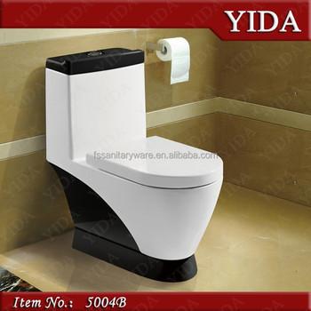 Pure Black Toilet Suites Black Toilet Bowl Color Batroom Toilet