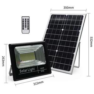 IP66 led floodlight solar floodlight 25w 40w 60w 100w solar street light