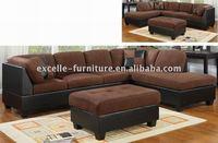 Hotel room furniture, sectional sofa, corner sofa