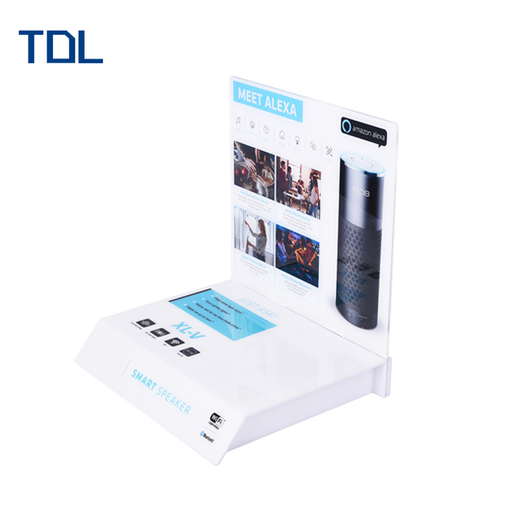 Counter Top Commercial Multifunction Tabletop Acrylic Speaker Display Stand  With Odm/oem - Buy Tabletop Acrylic Speaker Display Stand,Tabletop Acrylic