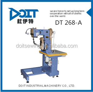 DT 268A DOUBLE THREAD SEATED TYPE INSEAM SEWING MACHINE FOR SHOE SOLES