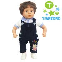 2017 toys look real doll plush vinyl dolls real baby boy doll