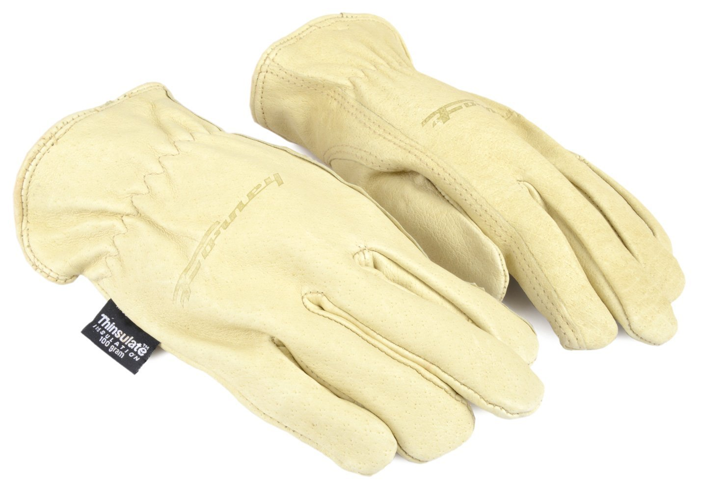 Forney 53166 Pigskin Leather Driver Premium Lined Women's Gloves, Small