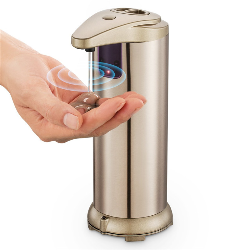 Top seller and smart hand sanitizer wholesale automatic touchless soap dispenser