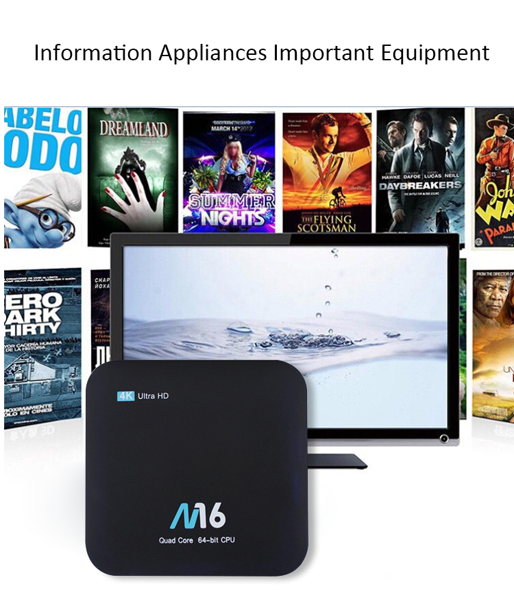 4k android universal web browser internet tv box