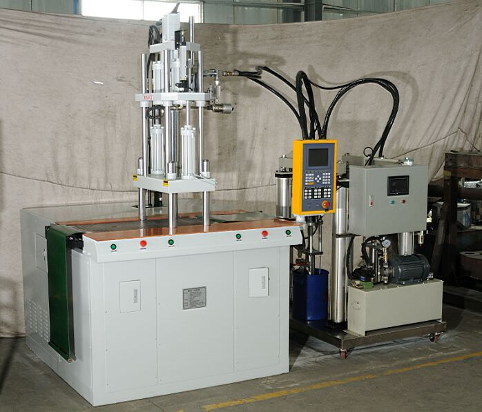 silica gel vertical PVC PLUG high speed 150tons injection molding machine