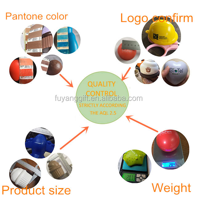 promotional toy accpect print logo custom PU foam sumo stress toy
