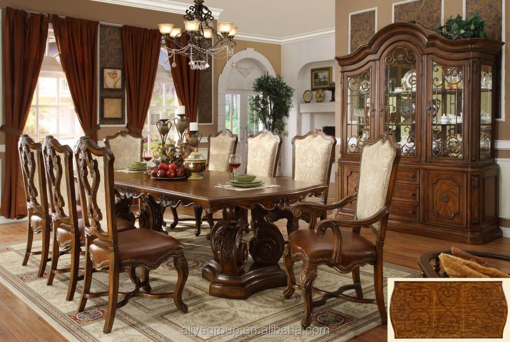 De lujo conjunto mesa de comedor en dise os de madera - Disenos de comedores de madera ...