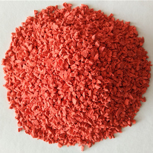 Wholesale hot sale color granule crumbs epdm rubber for playground