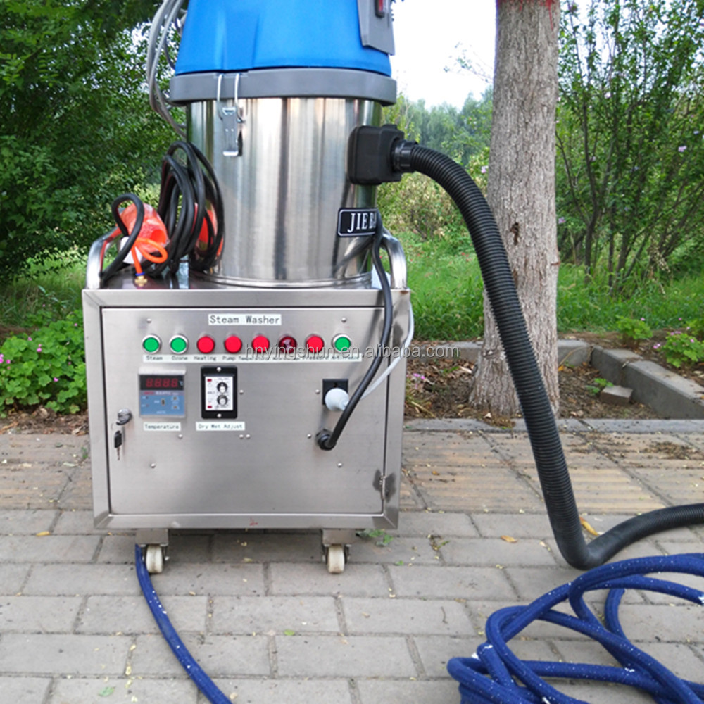 portable electric no boiler small steam clean car interior engine machine mobile car washer company