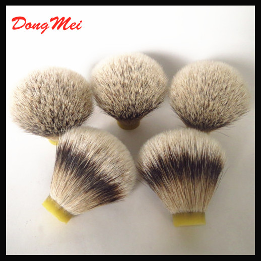 Wholesale dongmei silvertip badger hair knot,silvertip shaving brush knots