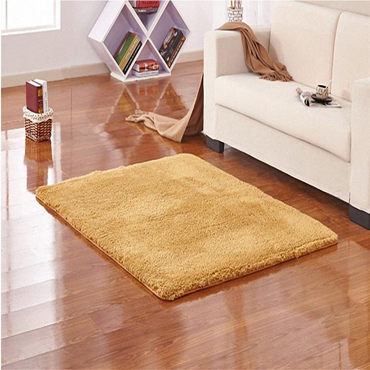S&V Micro Plush Super Soft Carpets Solid Color Area Rugs
