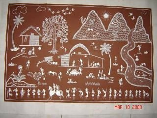 Warli painting buy tribal painting product on alibaba warli painting thecheapjerseys Image collections