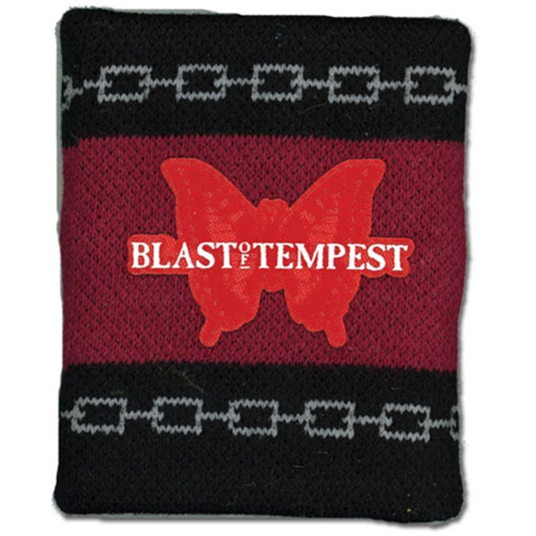 Blast of Tempest Men's Butterfly Anime Wristband