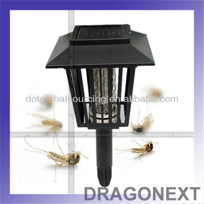 Lamp Solar Mosquito Repellent Lantern Killer Trap Repeller Backyard Pest Control