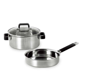 Best Quality Supply triply cookware Frying Pans omelette & Skillets and casserole sets