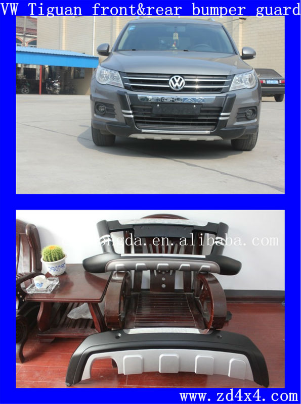 vw tiguan vorderen und hinteren sto f nger wachen. Black Bedroom Furniture Sets. Home Design Ideas