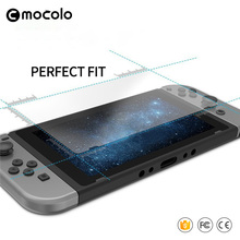 Free Sample Ultra-thin Film Anti-figherprint Games Tempered Glass Screen Protector for Nintendo Switch